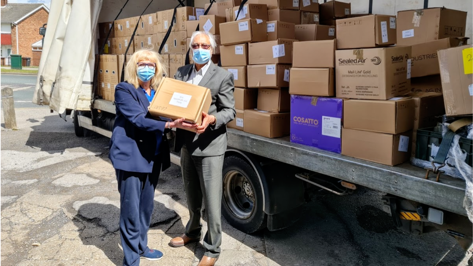Donations of supplies that will support India's Covid-19 response