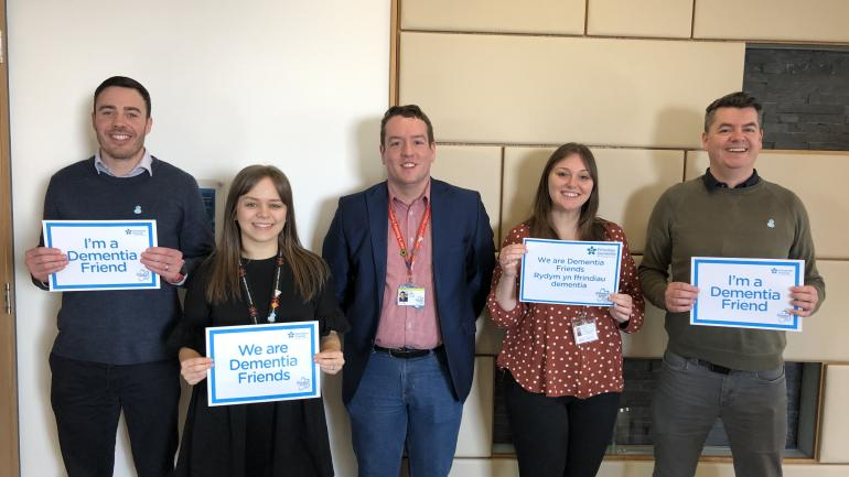 Image of our dementia friends