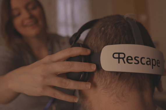 rescape vr headset